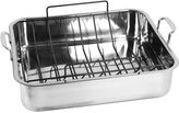 Oneida Stainless Steel Nonstick Roaster & U-Rack