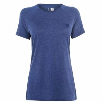 Karrimor . Womens Hot Rock T Shirt Short Sleeve (Navy Marl 12)