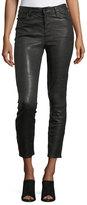 J Brand Jeans Ruby Lamb Leather Skinny-Leg Pants