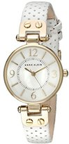 Anne Klein Women's 10/9888MPWT Watch with Leather Band