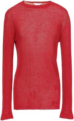 Philosophy di Lorenzo Serafini Printed Ribbed-knit Sweater