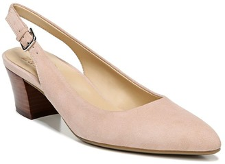 Naturalizer Charlee Suede Slingback Heel - Wide Width Available