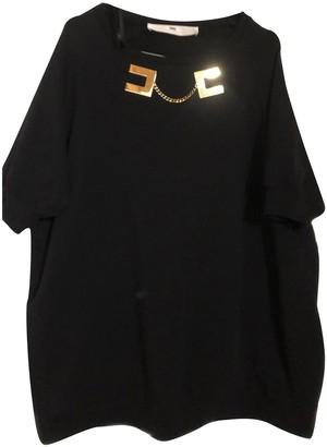 Elisabetta Franchi Black Cotton Knitwear for Women