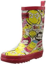 BeOnly Be Only Unisex Kids' Smiley Sweet Mid-Calf Rain Boots Multicolour Size: