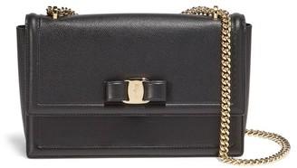 Salvatore Ferragamo Medium Ginny Leather Shoulder Bag