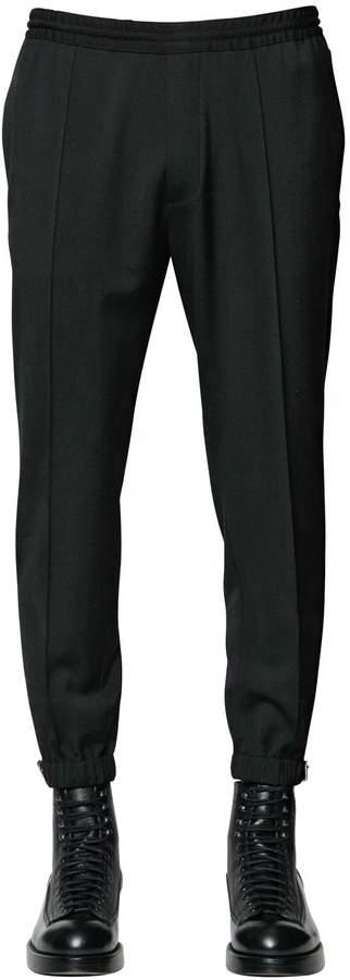 DSQUARED2 Stretch Wool Cady Sweatpants