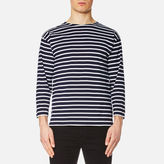 Armor Lux Beg Meil 3/4 Sleeve Tshirt - Navy/white