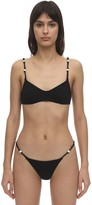 Solid & Striped April Beaded Lycra Bikini Top