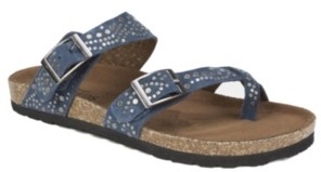 White Mountain Graham Footbed Sandals Women's Shoes