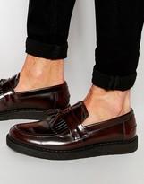 Fred Perry X George Cox Leather Tassel Loafers