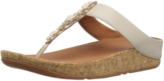 FitFlop Women's Ruffle Toe-Thong Sandal