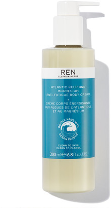 Ren Skincare Ren Atlantic Kelp And Magnesium Anti-Fatigue Body Cream 200Ml