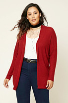 Forever 21 FOREVER 21+ Plus Size Seed Knit Cardigan