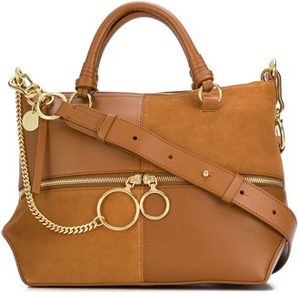 See by Chloe Patchwork tote