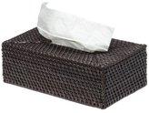 KOUBOO Rectangular Rattan Tissue Box Cover, Espresso