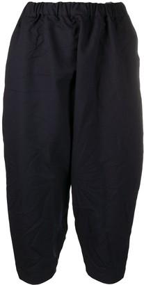 Comme des Garçons Comme des Garçons Cropped Fitted Trousers