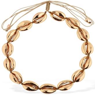 Puka Tohum Design Large Faux Shell Necklace