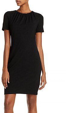 Theory Ruched Neck Dress