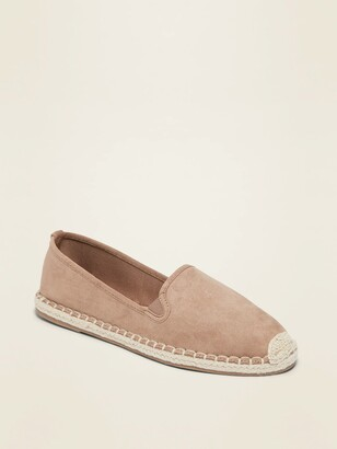 Old Navy Faux-Suede Espadrille Slip-On Shoes for Women