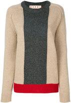 Marni colour block sweater - women - Virgin Wool - 40