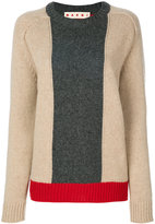 Marni colour block sweater - women - Virgin Wool - 42
