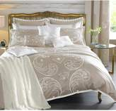 By Caprice Duchess Heart Sequin Embroidered Duvet Cover