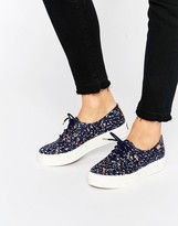 Keds Liberty Confetti Print Platform Sneakers