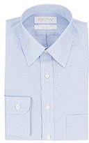 Roundtree & Yorke Gold Label Non-Iron Slim Fit Point-Collar Dotted Dress Shirt