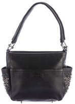 Furla Studded Leather Handle Bag