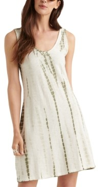 Lucky Brand Tye-Die Printed Mini Dress
