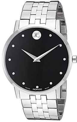 Movado Museum Classic - 0607201 (Black/Silver) Watches