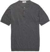 John Smedley - Bennett Sea Island Cotton Henley T-shirt