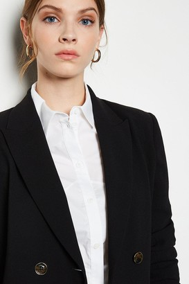 Soft Tailored Double Breasted Jacket