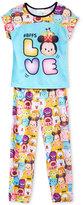 Disney Tsum Tsum 2-Pc. #BFFs Love Pajama Set, Little Girls (2-6X) & Big Girls (7-16)