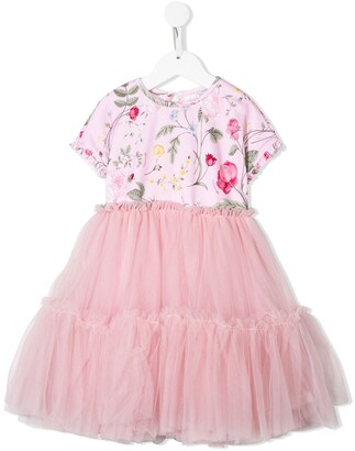 MonnaLisa Tulle Skirt Princess Dress