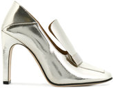 Sergio Rossi square toe pumps - women - Leather - 36