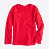 J.Crew Factory Girls' long-sleeve layering T-shirt