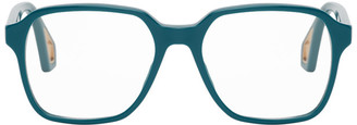 Gucci Navy Square Glasses