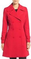 Trina Turk 'Tara' Fit & Flare Rain Coat