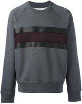 Ami Alexandre Mattiussi stripe sweatshirt