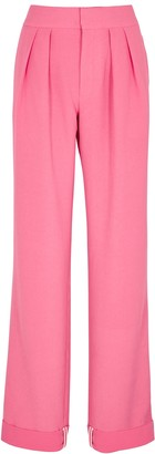 Maggie Marilyn I'll Be There By Your Side Pink Wide-leg Trousers