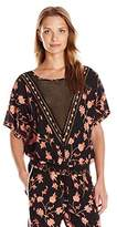 Plenty by Tracy Reese Women's Smocked Waist Tee Xs-L