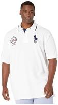 Polo Ralph Lauren Big & Tall Big Tall Short Sleeve Basic Mesh Polo (White) Men's Short Sleeve Knit