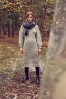 Moon River Yarn Knit Sweater Midi Dress