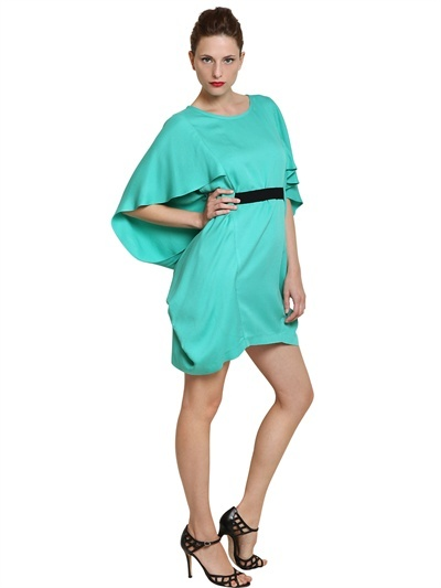 Space Crepe Di Viscose Dress