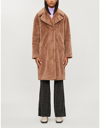 Stand Camille cocoon faux-fur teddy coat