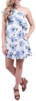 LoveRiche Floral One Shoulder Dress