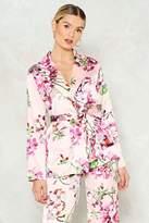 Nasty Gal Everyday Sunshine Floral Jacket