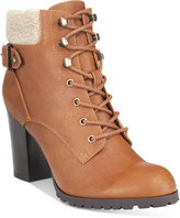 Style&Co. Style & Co. Caelie Lace-Up Ankle Booties, Only at Macy's