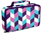 Fit & Fresh Bento Lunch Bag - Purple Blue Herringbone